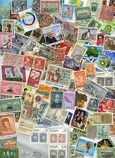 FOREIGN Stamp MIX OFF PAPER 100+  From Old Collections With HUGE BONUS!!!