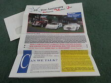 1992 ELEGANT MOTORS STEALTH LAMBORGHINI COUNTACH AUBURN CHEETAH KIT CAR BROCHURE