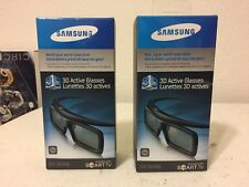 NEW Samsung SSG-3050GB 3D Active Glasses Set of 2, free shipping, no tax