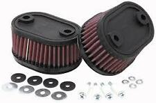 K&N AIR FILTER FOR KAWASAKI VN750 VULCAN 1986-2006 KA-7586