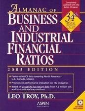 Almanac of Business and Industrial Financial Ratios 2003 (Almanac of Business an