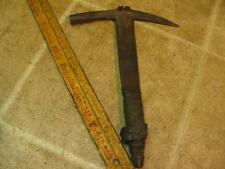 Vintage WS Brown Slaters Hammer Slate Roof Tool Pittsburgh PA