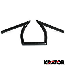 "Cruiser Handle Bars 1"" Black For Honda Shadow Aero Phantom VLX 750 1100"