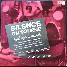 SILENCE ON TOURNE BO FILM LES PLUS GRANDS SUCCES DE BARRY DELERUE MAGNE 33T LP