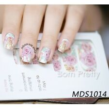 14 pcs Nail Wraps Nagelsticker Nail Art Full Sticker MDS1014