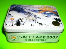 2002 OLYMPICS SALT LAKE CITY UTAH TIN MASCOT 3 PIN SET POWDER COAL COPPER RARE!!
