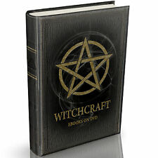 161 Demonology & Witchcraft Books on DVD Wicca Occult Pagan Magic Witch Spells