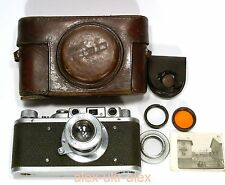 Rare FED-NKVD 1936 year Russian RF camera M39 mount.Excellent+, repair