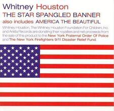 Star Spangled Banner [2001] [Single] by Whitney Houston (CD, Sep-2001, Arista)