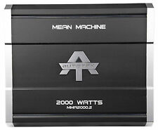 New Autotek MMA2000.2 2000 Watt 2 Channel Amplifier Mean Machine Car Audio Amp