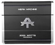 New Autotek MMA2000.2 2000 Watt 2 Channel Amplifier Mean Machine Car Audio Amp