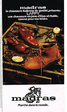 PUBLICITE ADVERTISING 104  1976  MADRAS  chaussures Italiennes LAPPY