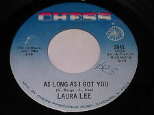 Laura Lee: As Long As I Got You / A Man With Some Backbone 45 - Soul Funk