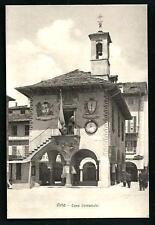 Orta ( Novara ) : Casa Comunale _  non viaggiata indicativamente primi '900