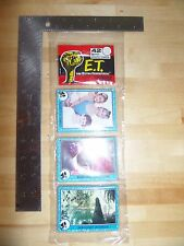 1982 Topps E.T. Extra Terrestrial Rack Pack Sealed 42 Cards Drew Barrymore