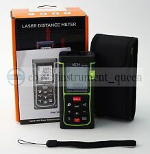 10 KEY 40M/131ft/1575in Laser Distance Meter Range Finder Measure Diastimeter