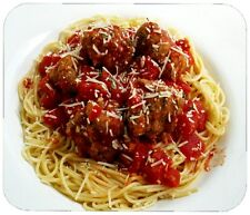 SPAGHETTI AND MEATBALLS MOUSE PAD - 1/4 IN. FOOD BEVERAGE MOUSEPAD