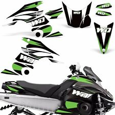 Decal Graphic Kit Yamaha FX Nytro Parts Sled Snowmobile Wrap Decals 2008-2014 WD