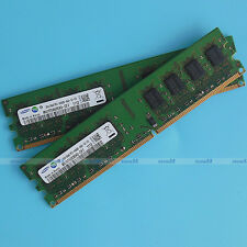 Samsung 4G 2x2GB PC2-6400 DDR2 800 800Mhz 240pin Desktop Memory Low Density RAM