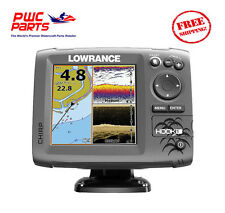 Lowrance HOOK-5 Combo w/83/200/455/800 HDI TM/Transducer NEW 000-12656-001