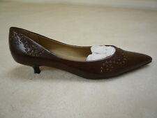Ladies Brown Court Shoes New Look Padded Lining Size 4/37  Brand New With Marks