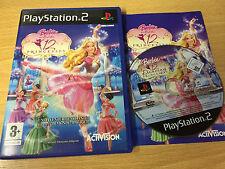 PS2 : BARBIE au bal des 12 princesses