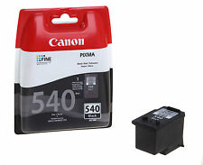 Original Genuine Canon PG-540 Black Ink Cartridge for PIXMA MX525 Printers