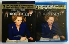 NEW THE IRON LADY BLU RAY + RARE OOP MINT CANADIAN EXCLUSIVE SLIPCOVER SLEEVE