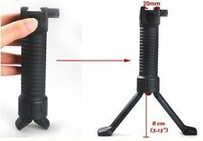 Quick Release RIS 2 in 1 Fore Grip Bipod for Airsoft Rifle Hunting Black New