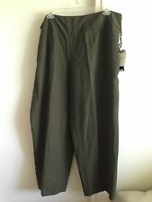 JONES NEW YORK SILK LINEN BAMBOO PANTS WOMAN PLUS SIZE 24W, NEW