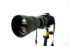 JINTU 420-800mm f8.3-16 telephoto zoom lens for Nikon D3100 D3200 D5100 D7000