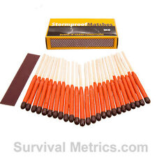 UCO Stormproof 15 Second Burn Survival Matches, 25 qty