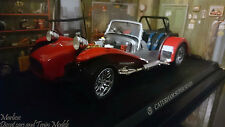 Kyosho 1:18 1968 Lotus Caterham Super Seven Red & Silver