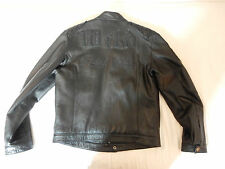 Original Philipp Plein Leather jacket WILD Lederjacke mit Kristallen