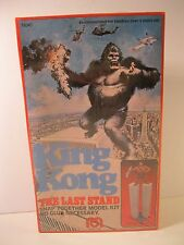"KING KONG MODEL KIT 1976 ""THE LAST STAND"" MEGO VG FACTORY SEALED BOX #74040"