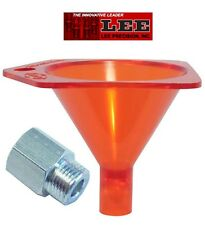 Lee Powder Funnel 22 to 45 Cal. + Powder Funnel Adapter Combo *90190 + SE2168*