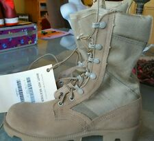 NEW WELLCO SZ 5.5 XN EXTRA NARROW Goretex Desert  Army Combat HOT WEATHER Boots