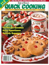 1999 Taste of Home's Quick Cooking Magazine: On-The-Go Goodies/Easy Appetizers