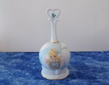 Precious Moments Peace On Earth Anyway Porcelain Bell 1996