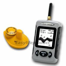 Lucky FFW-718 Wireless Sonar Fish Finder Fishfinder °C °F Sea Contour 70M/230FT