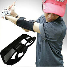 Golf Swing Training Straight Practice Aids Golf Elbow Brace Arc Support Band Pro
