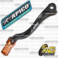 Apico Black Orange Gear Pedal Lever Shift For KTM XCW 400 2002 Motocross Enduro