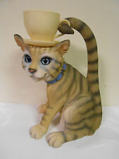 """United Design Kooky Cup Holder Cat Statue 12"""" by 10"""" by 8"""""""