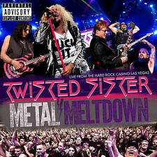 Twisted Sister: Metal Meltdown (Blu-ray/DVD, 2016, CD/Blu-ray/DVD)