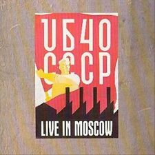 Live in Moscow by UB40 (CD, Jun-1987, Virgin)