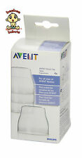 Avent Dome Caps 4-pack BPA Free Authentic and Brand New in Original Box