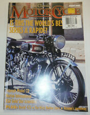 MotorCycle Magazine Triumph Model CD August 2000 012215R