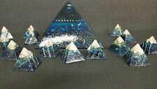 Orgone Prosperity Pyramid House Protectors 1 large 5 Small