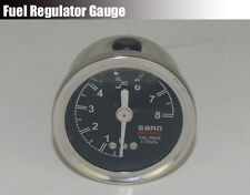 Universal SARD Liquid-Filled Turbo Charger Fuel Regulator Fuel Pressure Gauge