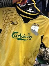 LIVERPOOl AWAY 2001/2 30/32 INCH BNWL AT £10   IN  YELLOW